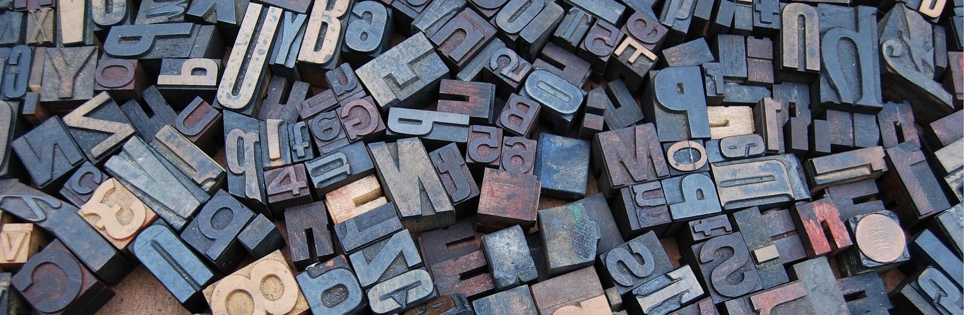 letterbak met losse letters, welk font kiezen voor mijn website