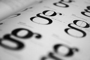 plaatje van verschillende fonts