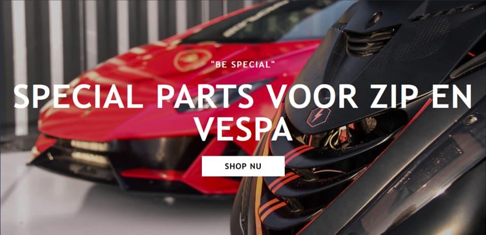 Webshop PWR Special Parts