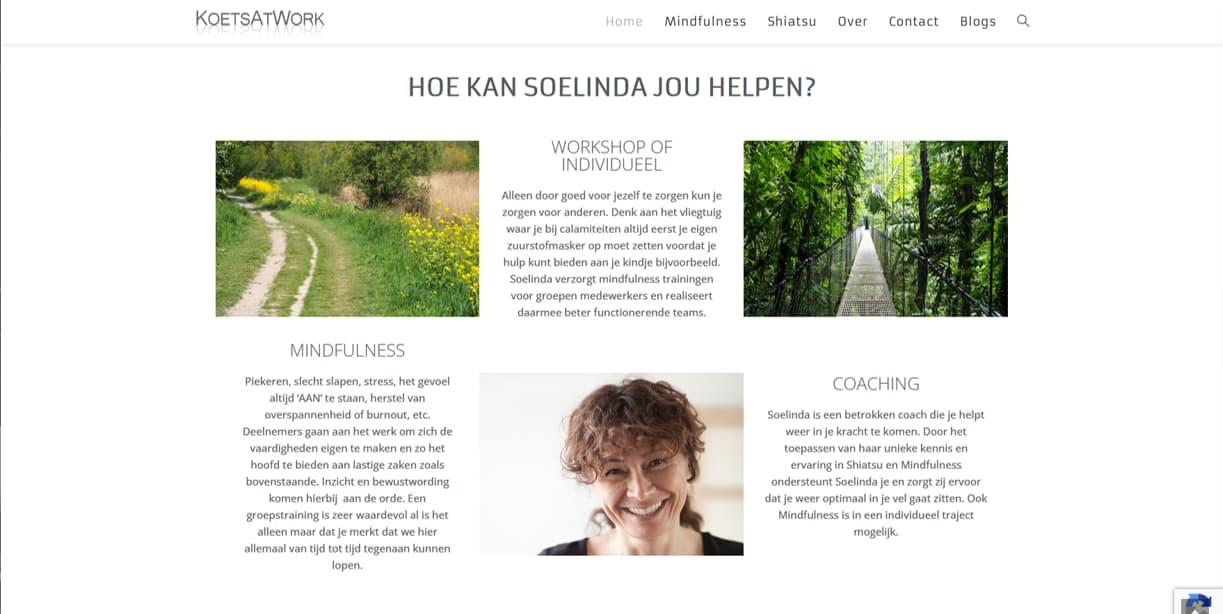 YourWebPro portfolio - project website van KoetsAtWork