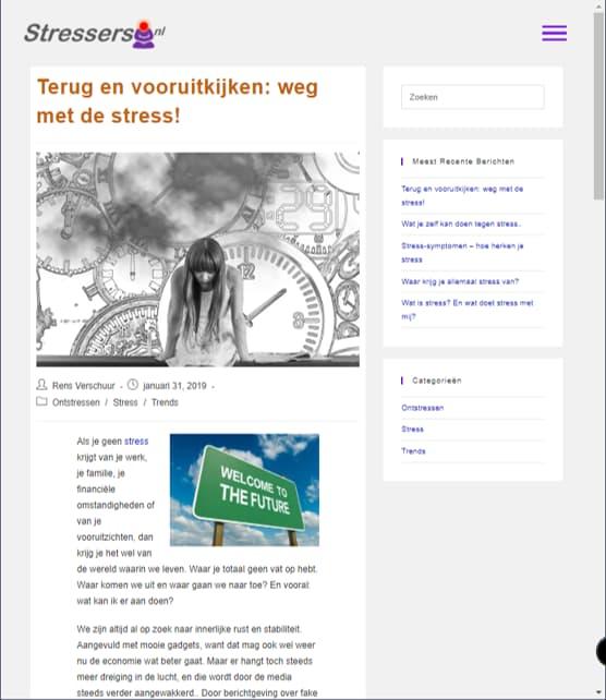 YourWebPro portfolio - website Stressers